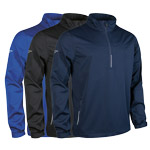 9770 Glenmuir Mens Water Repllent Zip Neck Performance Windshirt